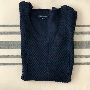 Calvin Klein Navy Blue Sweater